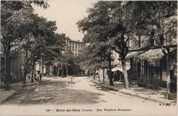 Rive-de-Gier (Loire) : Rue Waldeck-Rousseau