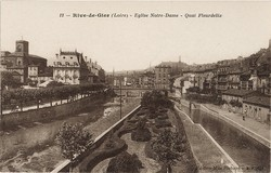 Rive-de-Gier (Loire) : Eglise Notre-Dame - Quai Fleurdelix