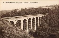 Rive-de-Gier (Loire) : Vallée d'Egarande - Le Pont d'Arcole