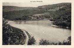 Rive-de-Gier (Loire) : Le Barrage