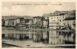 Rive-de-Gier (Loire) : Le Bassin, côté gauche
