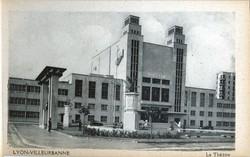 Lyon-Villeurbanne. - Le Théâtre