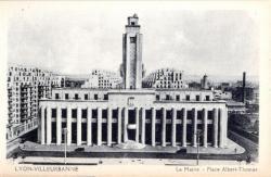 Lyon Villeurbanne. - La Mairie. - Place Albert-Thomas