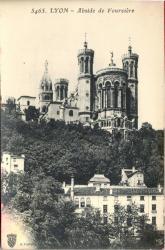 Lyon : Abside de Fourvière
