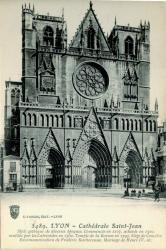 Lyon : Cathédrale Saint-Jean