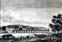 Lyon d'autrefois. - Pont Saint-Clair. - colline de la Croix-Rousse