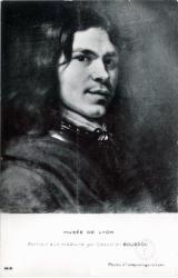MUSÉE DE LYON : Portrait d'un militaire par Sébastien BOURDON