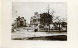 Lyon : Église de L'Immaculée-Conception ; L'Église, sur l'Avenue de Saxe, en 1889