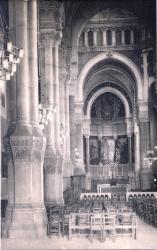 Lyon : Église de L'Immaculée-Conception ; La grande nef