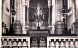Lyon : Église de L'Immaculée-Conception ; Le Choeur (autel provisoire)