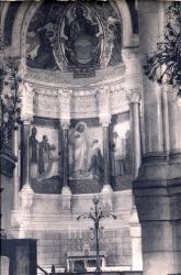 Lyon : Église de L'Immaculée-Conception ; Chapelle de l'abside dédiée au Sacré-Coeur