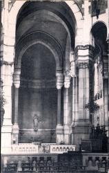 Lyon : Église de L'Immaculée-Conception ; Chapelle latérale de gauche, dédiée à St Jude, apôtre (siège de l'archiconfrérie de St Jude, patron des causes désespérées).