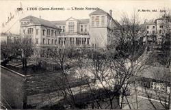 Lyon (Croix-Rousse) : L'Ecole Normale