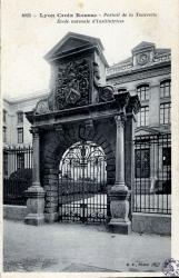 Lyon Croix-Rousse : Portrait de la Tourrette ; Ecole normale d'Institutrices