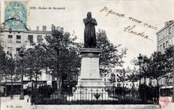 Lyon : Statue de Jacquard