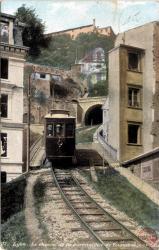 Lyon : Le chemin de fer à crémaillère de Fourvière