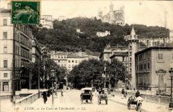 Lyon : Le Cours de l'Archevêché