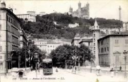 Lyon : Avenue de l'Archevêché