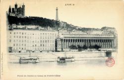 Lyon : Palais de Justice et Coteau de Fourvière