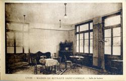Lyon : Maison de retraite Saint-Camille ; Salle de lecture