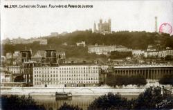 Lyon : Cathédrale Saint-Jean ; Fourvière et Palais de Justice