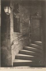 """Lyon : Musée de Gadagne ; 12, rue de Gadagne ; L'Escalier"""""""