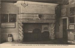 Lyon : Musée de Gadagne ; 12, rue de Gadagne ; Cheminée de l'Hôtel de Gadagne