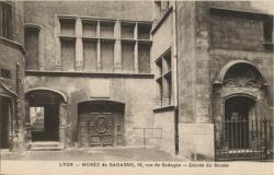 Lyon : Musée de Gadagne ; 12, rue de Gadagne ; Entrée du Musée