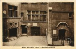 Lyon : Musée du Vieux Lyon ; Entrée Principale