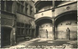 Lyon : Musée de Gadagne ; Cour