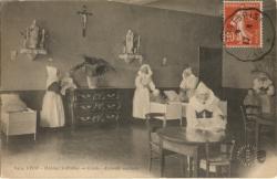 Lyon : Hôpital St-Pothin ; Crèche ; Enfants malades