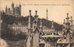 Lyon : Abside de Fourvière et Tour de la Cathédrale