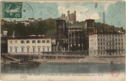 Lyon : La Cathédrale Saint-Jean ; La Colline de Fourvière