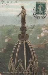 Lyon : La Vierge dorée de Fourvière
