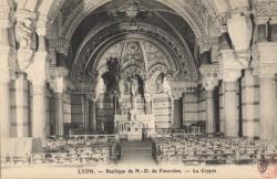 Lyon : Basilique de N.-D. de Fourvière
