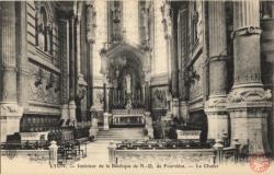 Lyon : Intérieur de la Basilique de N.-D. de Fourvière