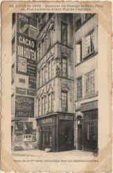 Lyon en 1905 : Quartier du Change et Saint-Paul, 14 Rue Lainerie, avant Rue l'Asnerie