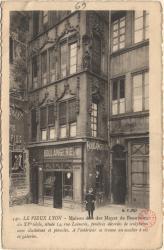 Le Vieux lyon : Maison dite des Mayet de Beauvoir