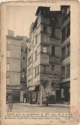 Lyon : Quartier St-Paul, en 1905