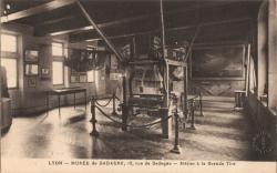 Lyon : Musée de Gadagne, 12, rue de Gadagne ; Métier à la Grande Tire