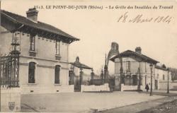 Le Point-du-Jour (Rhône) : La Grille des Invalides du Travail