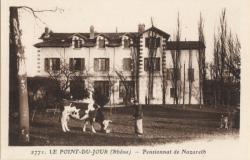 Le Point-du-Jour (Rhône) : Pensionnat de Nazareth