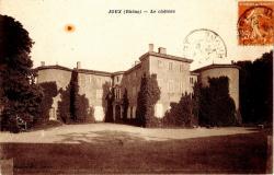 Joux (Rhône) : Le château