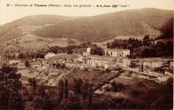 Environs de Tarare (Rhône) - Joux, vue générale