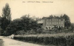 Lentilly (Rhône) : Château de Cruzol