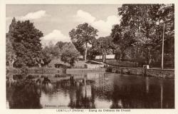 Lentilly (Rhône) : Etang du Château de Cruzol