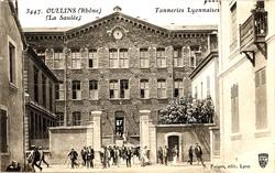 Oullins (Rhône) : Tanneries Lyonnaises