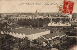 Oullins (Rhône) : Ateliers P. L. M.