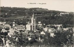 Oullins (Rhône) : Vue générale