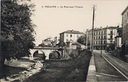 Oullins (Rhône) : Le Pont avec l'Yseron